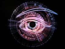gaze технология Стоковая Фотография RF