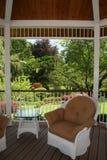 gazebo κήπων Στοκ Φωτογραφίες