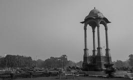 Gazebo κοντά στην πύλη της Ινδίας Στοκ Φωτογραφία