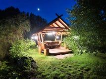 Gazebo νεράιδων στα ξύλα Στοκ εικόνες με δικαίωμα ελεύθερης χρήσης