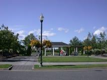 Gazebo πάρκων γειτονιάς στοκ εικόνες