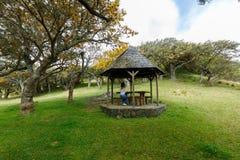 Gazebo σε Λα Plaine des Cafres, Νήσος Ρεϊνιόν Στοκ Φωτογραφία