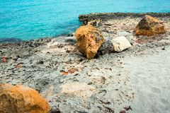 Gazebo στον ωκεανό Στοκ Φωτογραφίες