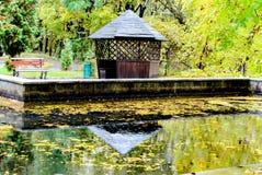 Gazebo στο πάρκο Στοκ φωτογραφία με δικαίωμα ελεύθερης χρήσης