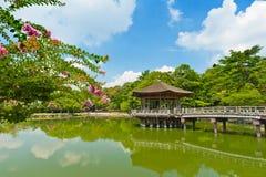 Gazebo в Nara стоковое изображение rf