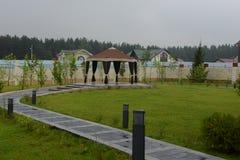 gazebo сада Стоковые Фотографии RF