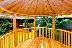 gazebo деревянный Стоковое фото RF