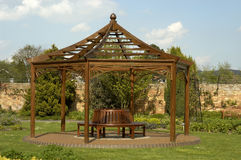 Gazebo royalty free stock image