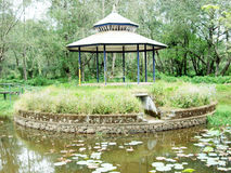 A gazebo Stock Photo