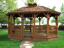 gazebo Royaltyfria Bilder