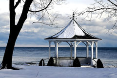 The Gazebo. Gazebo used in the movie  The Deadzone filmed in Niagara On The Lake  Ontario Royalty Free Stock Image