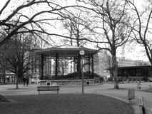 Gazebo. In a park in Geneva, Switzerland Royalty Free Stock Image