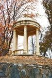 Gazebo. Antique gazebo in autumn park Royalty Free Stock Photo