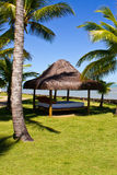 Gazebo at Arraial dajuda Eco Resort royalty free stock image