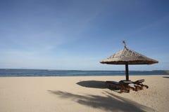 Free Gazebo At Beautiful Beach Royalty Free Stock Images - 435429