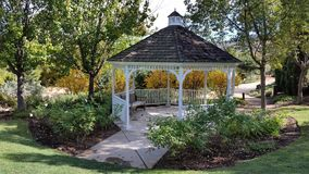 Gazebo in Autumn Royalty Free Stock Photography