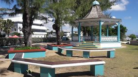 gazebo in Barbados stock foto