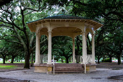 Gazebo at Battery Park, Charleston, SC. Royalty Free Stock Photography