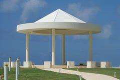 Gazebo. beach wedding tent. Stock Photography