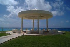 Gazebo. beach wedding tent.  pavilion Royalty Free Stock Photo