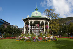 Gazebo. Bergen. Norway Stock Image