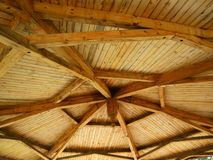 Gazebo Ceiling. I am drawn to the beauty of these sturdy structures in every great peoples park Royalty Free Stock Images