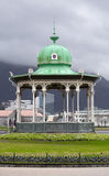 Gazebo in the center of Bergen Royalty Free Stock Photography