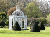 The Gazebo, Chenies, Buckinghamshire, UK stock photo