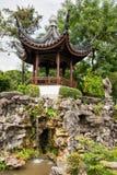 Chinese garden in Singapore. Gazebo in the Chinese Garden, Singapore Royalty Free Stock Photos