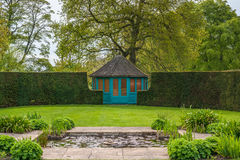 Gazebo. A Gazebo in a country garden Royalty Free Stock Photos