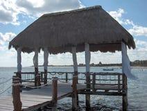 Gazebo d'océan Images stock