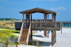 Gazebo da praia Imagem de Stock Royalty Free