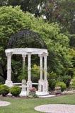 Gazebo de la boda, arboreto de Wilmington Imagenes de archivo