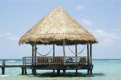 Gazebo de la playa Fotos de archivo libres de regalías