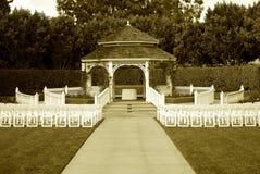 Gazebo de mariage Photos libres de droits