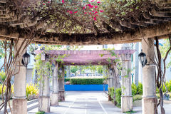 Gazebo de Paseo de Sta. Rosa.  Royalty Free Stock Photos