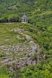 Gazebo de piedra (arpa eólica) Foto de archivo libre de regalías