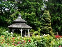Gazebo del giardino Fotografia Stock