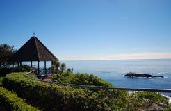 Gazebo del Laguna Beach Foto de archivo
