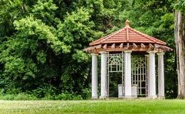 Gazebo an der Longview-Bauernhof-Villa Stockfoto