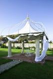 Gazebo do casamento fotos de stock