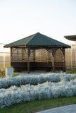 Gazebo en patio Imagen de archivo libre de regalías