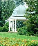 gazebo för 5 botanisk trädgård Arkivbilder