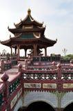 Gazebo för traditionell kines Fotografering för Bildbyråer
