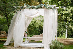 Free Gazebo For Relaxing Outdoors. Stock Images - 97618104