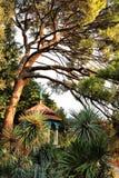 Gazebo in the garden Stock Image