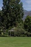 Gazebo in a garden Stock Photography