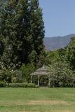 Gazebo in a garden Royalty Free Stock Photography