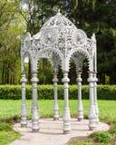 Gazebo in garden, oriental style Stock Photography