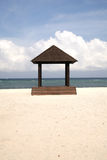 Gazebo at Gili Trawangan Royalty Free Stock Photo